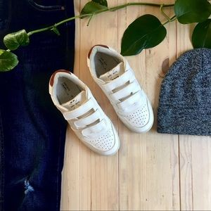 Zara White Velcro Boys Sneakers